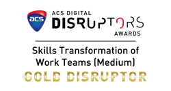 Gold 2018 Disruptor Skills Transformation